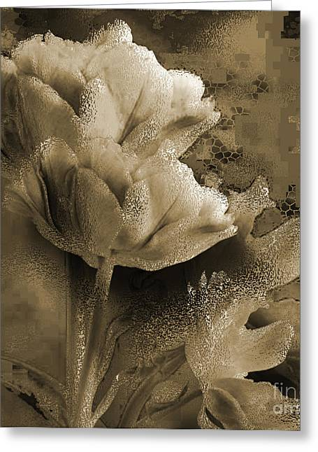 Elegance Greeting Card by Yanni Theodorou