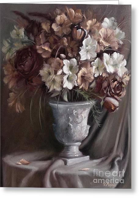 Elegant Bouquet Greeting Card
