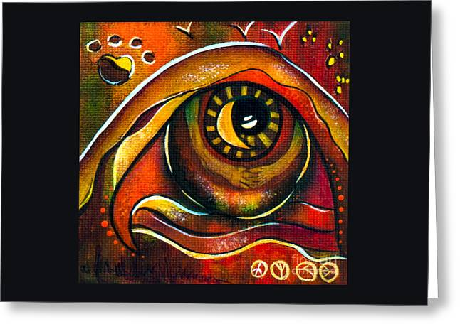 Elementals Spirit Eye Greeting Card