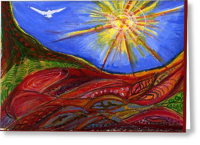 Elements Of Earth Greeting Card
