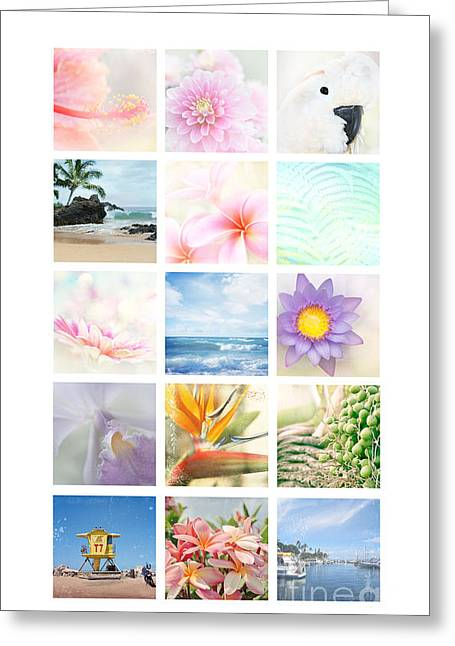 Elements Greeting Card by Sharon Mau