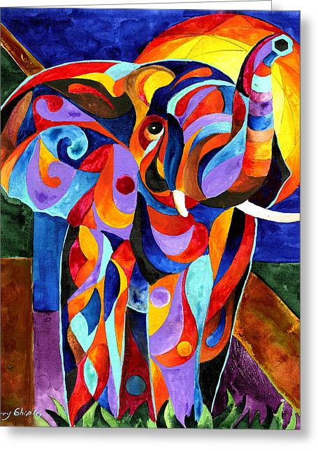 Elephant Dream Greeting Card