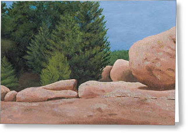 Elephant Rocks Greeting Card
