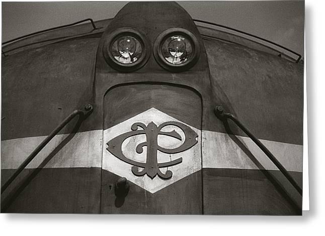 Greeting Card featuring the photograph Eletric Locomotive by Amarildo Correa