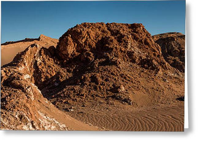 Elevated View Of Desert, Valle De La Greeting Card by Panoramic Images
