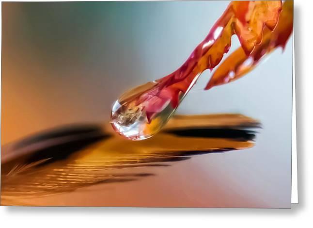 Elixir Of Faith Greeting Card by Kenneth Haley