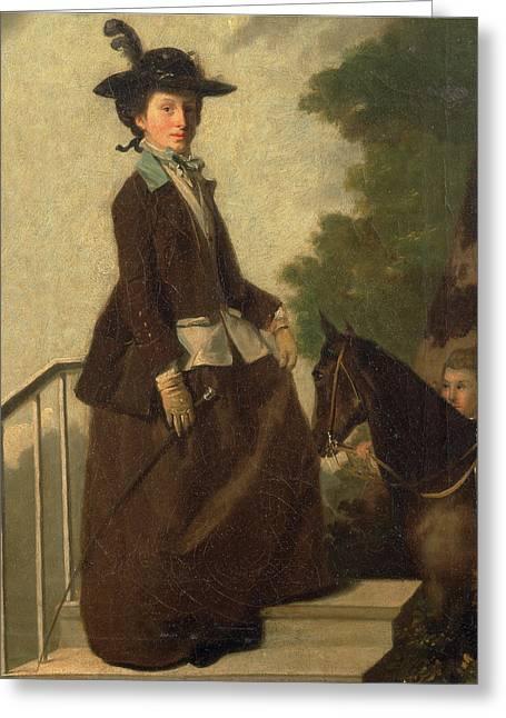 Elizabeth Bridgman Greeting Card by Litz Collection