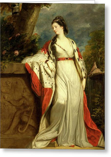 Elizabeth Gunning, Duchess Of Hamilton And Argyll Greeting Card by Litz Collection