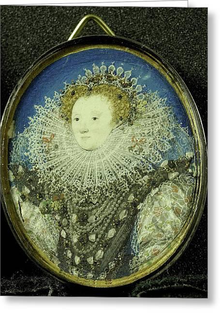 Elizabeth I, 1533-1603, Queen Of England Greeting Card