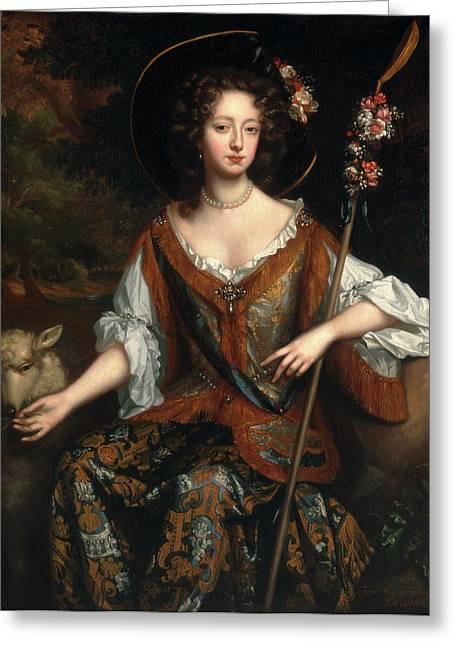 Elizabeth Jones, Countess Of Kildare Elizabeth Greeting Card