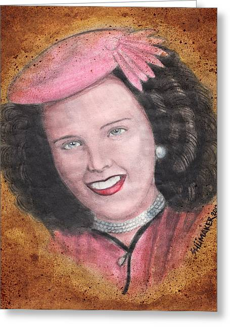 Elizabeth Short Before Greeting Card by David Shumate