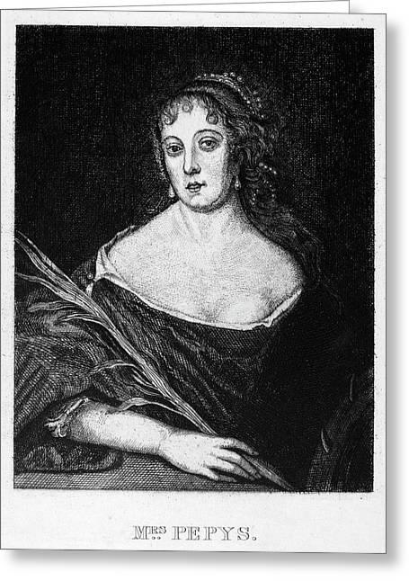 Elizabeth St Greeting Card by Granger