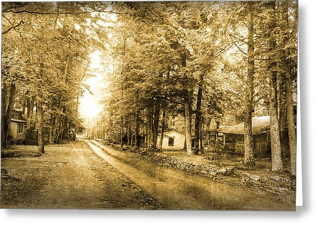 Elkmont Ghost Town Greeting Card by Michael Eingle