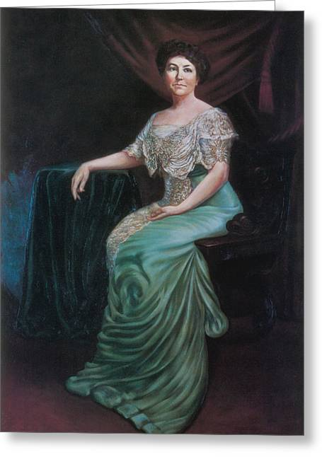 Ellen Wilson, First Lady Greeting Card by Science Source