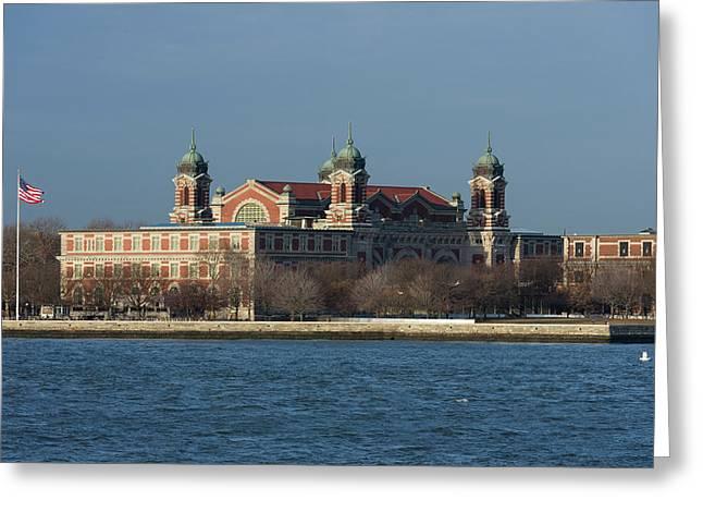 Ellis Island Immigration Museum Greeting Card