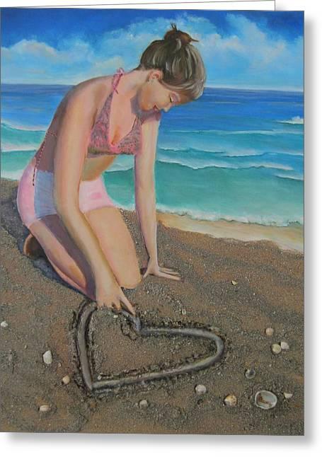Eloise Loves...eloise Aime Greeting Card