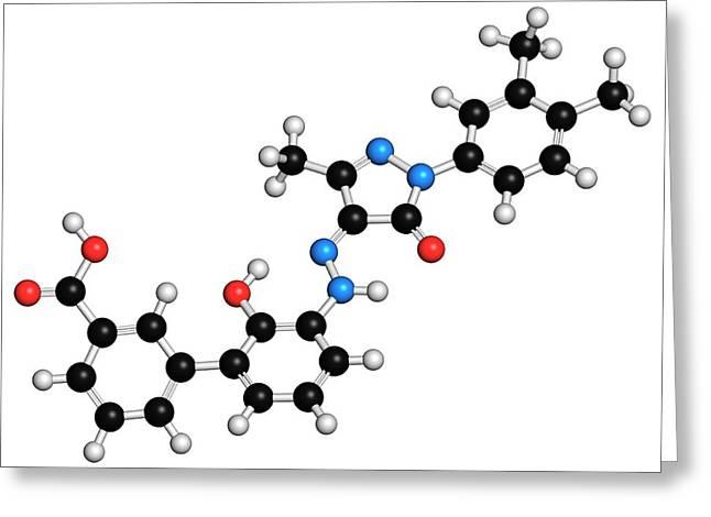 Eltrombopag Thrombocytopenia Drug Greeting Card by Molekuul