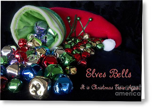 Elves Bells Greeting Card