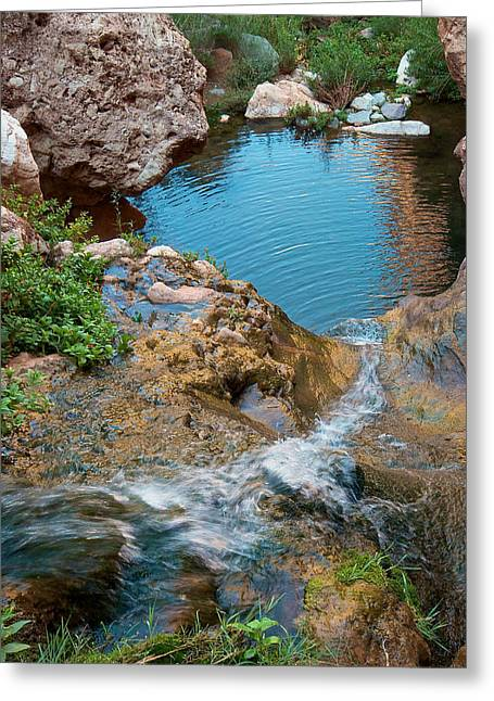 Greeting Card featuring the photograph Elves Chasm by Britt Runyon