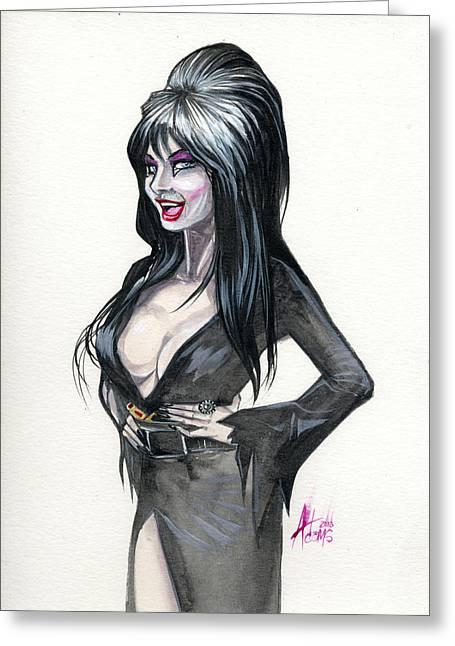 Elvira I Greeting Card