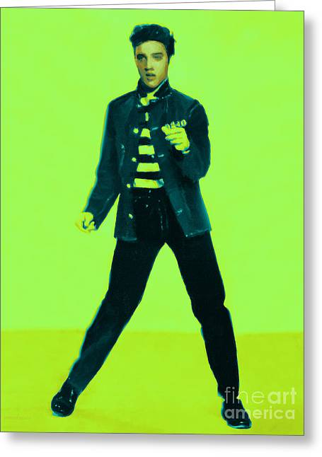 Elvis Is In The House 20130215p42 Greeting Card by Wingsdomain Art and Photography