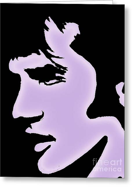 Elvis Pop Art Style Greeting Card