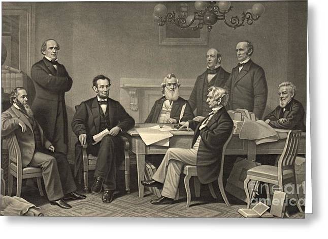 Emancipation Proclamation 1866 Greeting Card by Padre Art