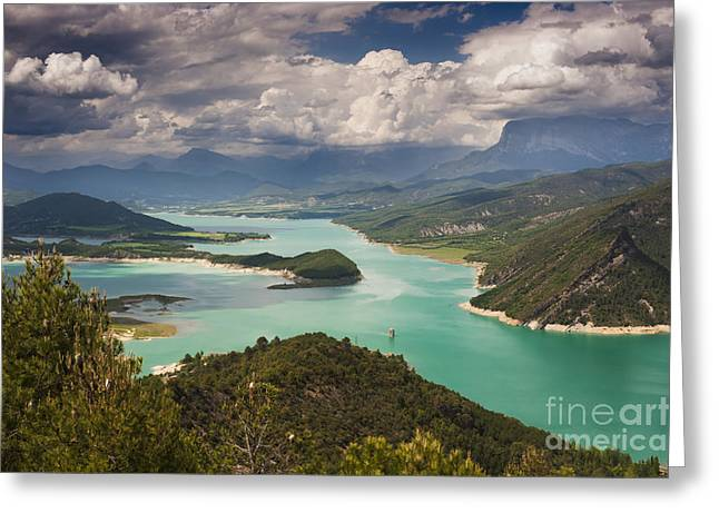 Embalse De Mediano 1 Greeting Card by Michael David Murphy