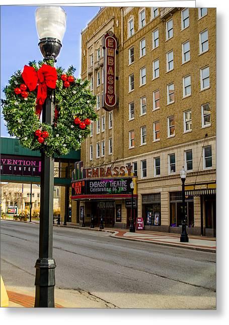 Embassy Christmas - Fort Wayne Greeting Card
