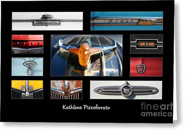 Emblems And Ornaments Greeting Card by Kathlene Pizzoferrato