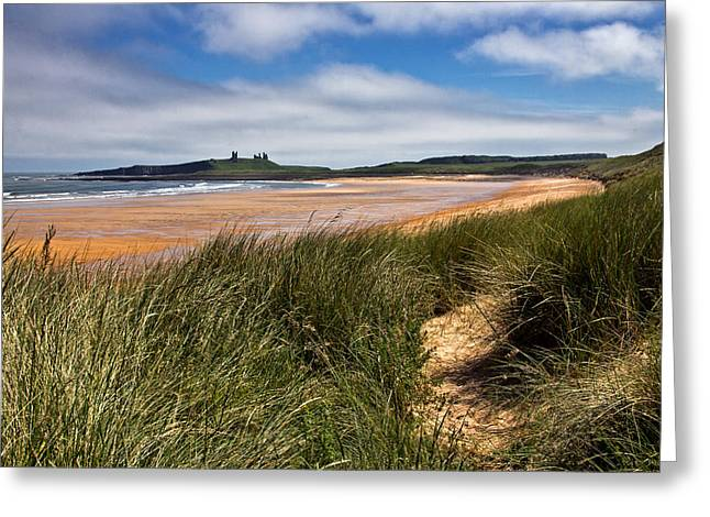 Embleton Bay Greeting Card by David Pringle