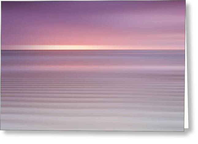 Embleton Bay Ripples II Greeting Card by Chris Frost