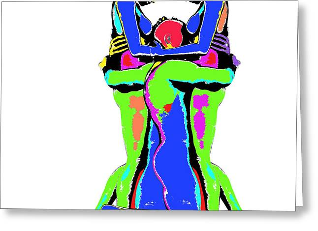 Embrace Of Love Greeting Card by Jo Collins