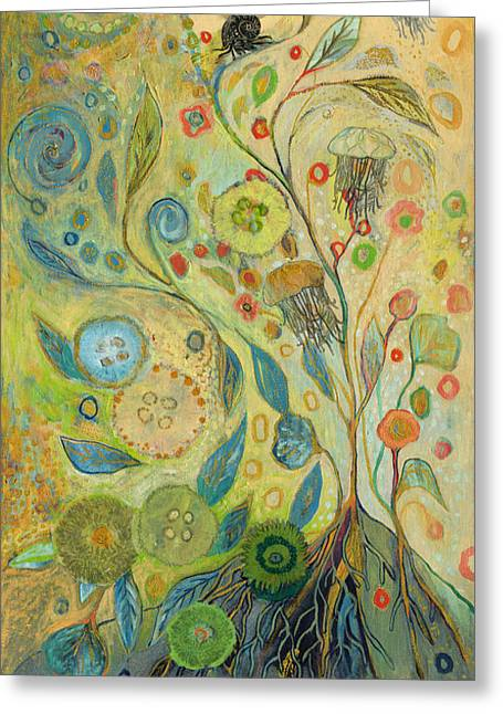 Embracing The Journey Greeting Card by Jennifer Lommers