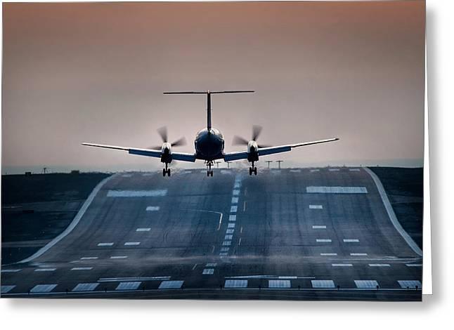 Embraer 120-er Greeting Card