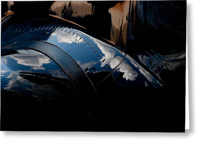 Embraer Reflection II Greeting Card by Paul Job