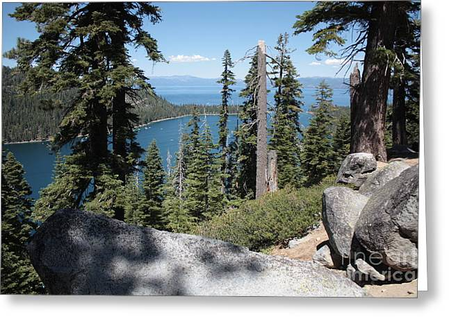 Emerald Bay Vista Greeting Card