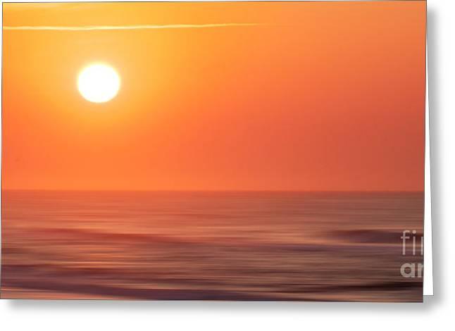 Emerald Isle Sunrise Greeting Card