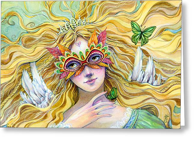 Emerald Princess Greeting Card