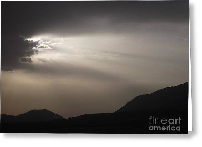 Emergence In Andalusia Greeting Card by R McLellan