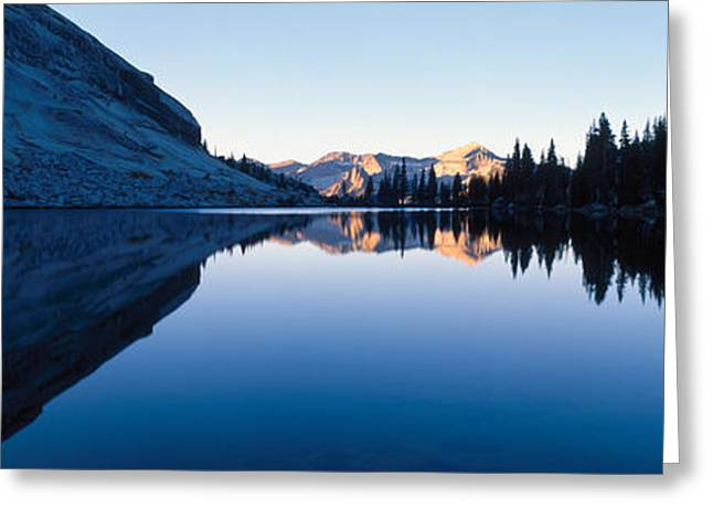 Emeric Lake Yosemite National Park Ca Greeting Card