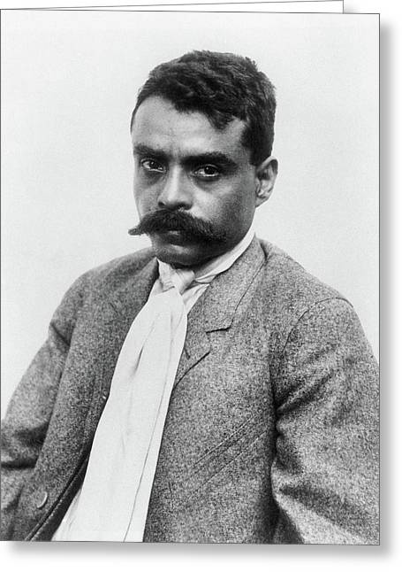 Emiliano Zapata (1879-1919) Greeting Card by Granger
