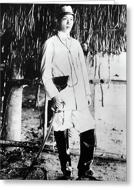 Emilio Aguinaldo (1870-1964) Greeting Card by Granger
