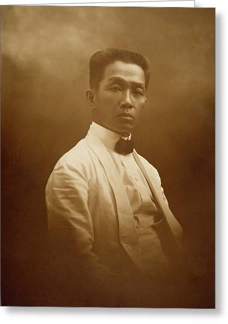 Emilio Aguinaldo (c1870-1964) Greeting Card by Granger