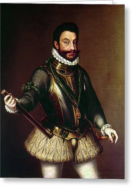 Emmanuele Filiberto (1528-1580) Greeting Card by Granger