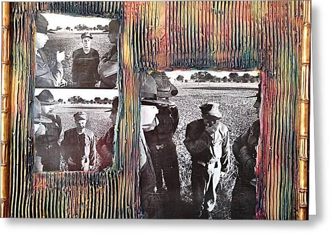 Emotional Breakdown By Alfredo Garcia Greeting Card