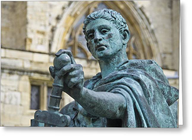 Emperor Constantine Greeting Card