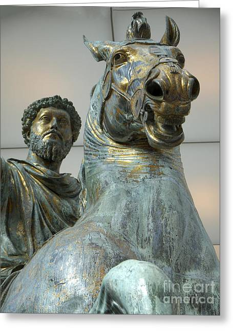 Emperor Marcus Aurelius Greeting Card