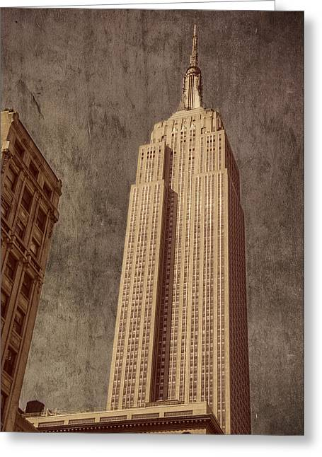 Empire State Building Vintage Greeting Card