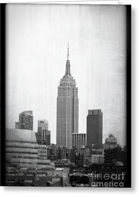 Greeting Card featuring the photograph Empire State by Paul Cammarata